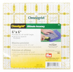"Omnigrid 6"" Square Ruler with Angles"