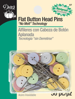 Pins, Flat Button Head, 50 Count
