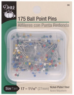 Pins, Ball Point, Extra Fine, 175 ct