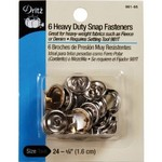Snap Fasteners, Heavy Duty