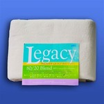 "Legacy Natural 80/20 Batting, 120"" x 30 yds"