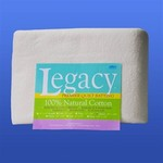 "Legacy Natural Cotton Batting w/Scrim, 96"" x 9 yds"