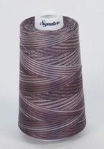 Signature Variegated Thread-DustyPurple, 3000 Yard Cone