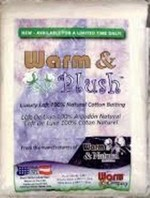 Warm & Plush 90� x 108�
