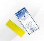 "ADQ-Plus 6"" x 1"" Yellow Ruler"