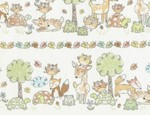 TT-Gail-C4305-White, Woodland Animals