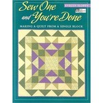 Sew One and You�re Done
