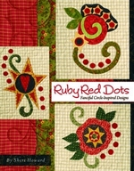 Ruby Red Dots: Fanciful Circle-Inspired Designs