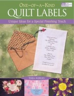 One-Of-A-Kind Quilt Labels - CLOSEOUT