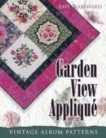 Garden View Applique - CLOSEOUT