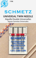 Schmetz Universal Twin Needle Assortment
