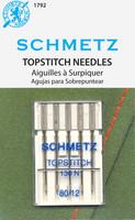 Schmetz Topstitch Needles, 80/12
