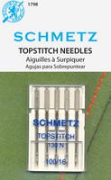 Schmetz Topstitch Needles, 16/100