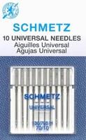 Schmetz Universal Needles, 10/70-10/card