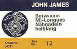 John James Betweens, Size 12, 25 Ct