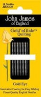 John James Gold'n Glide Quilting, Size 9