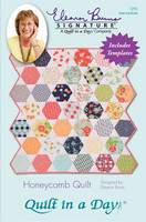 Honeycomb Quilt, Template included