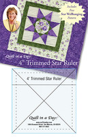 4� Trimmed Star Ruler