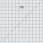 "Quilt Ruler - 12.5"" Square - SALE"
